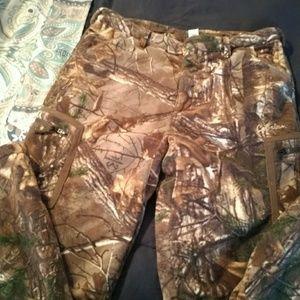 Fleece Camo Pants
